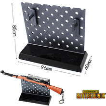 Anime PUBG Playerunknown s Battlegrounds sword weapon display rack Car Weapon model ornaments Toy collection Black