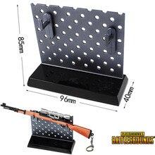 Аниме PUBG Playerunknown's Battlegrounds меч оружие дисплей стойки автомобиля модель оружия украшения игрушка Коллекция Черный Поддержка