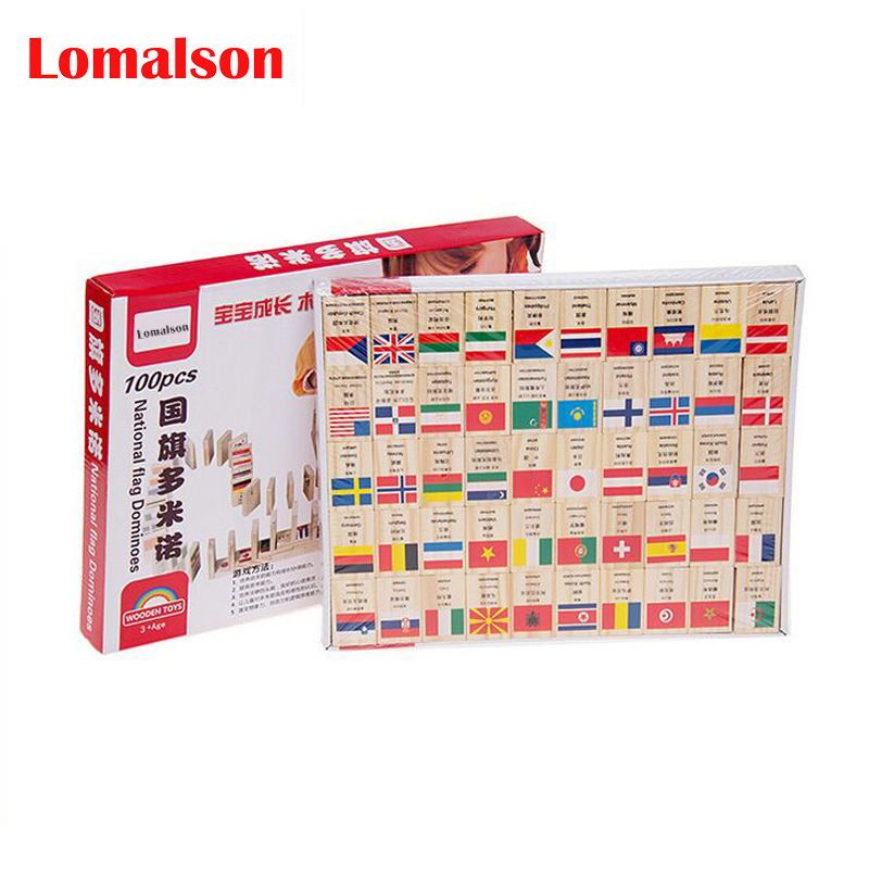 Popular Chinese Wood Block-Buy Cheap Chinese Wood Block lots from ...100PCS/Lot Domino Block English/Chinese/Korean/Russian Language National  Flag Geography