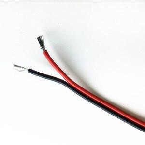 Image 3 - 30 m 98ft 20awg Extension Cable Dây Đồng Đóng Hộp 2 Pin cách điện PVC led Strips Khô Kết Hợp Wire 5 V 12 V 24 V DC