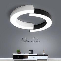 Lampy sufitowe LED Nordic oświetlenie wyposażenie domu salon sufit pokoju u nas państwo lampy nowoczesne oprawy sypialni oświetlenie sufitowe
