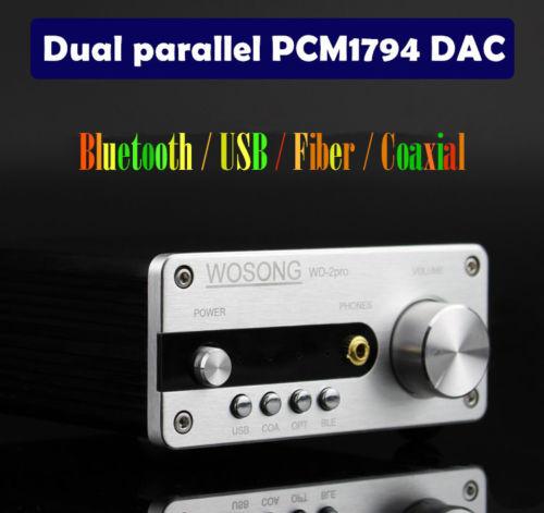 цена на Nobsound HiFi Bluetooth DAC Digital Audio Decoder Headphone Amp USB COAX OPT APT-X