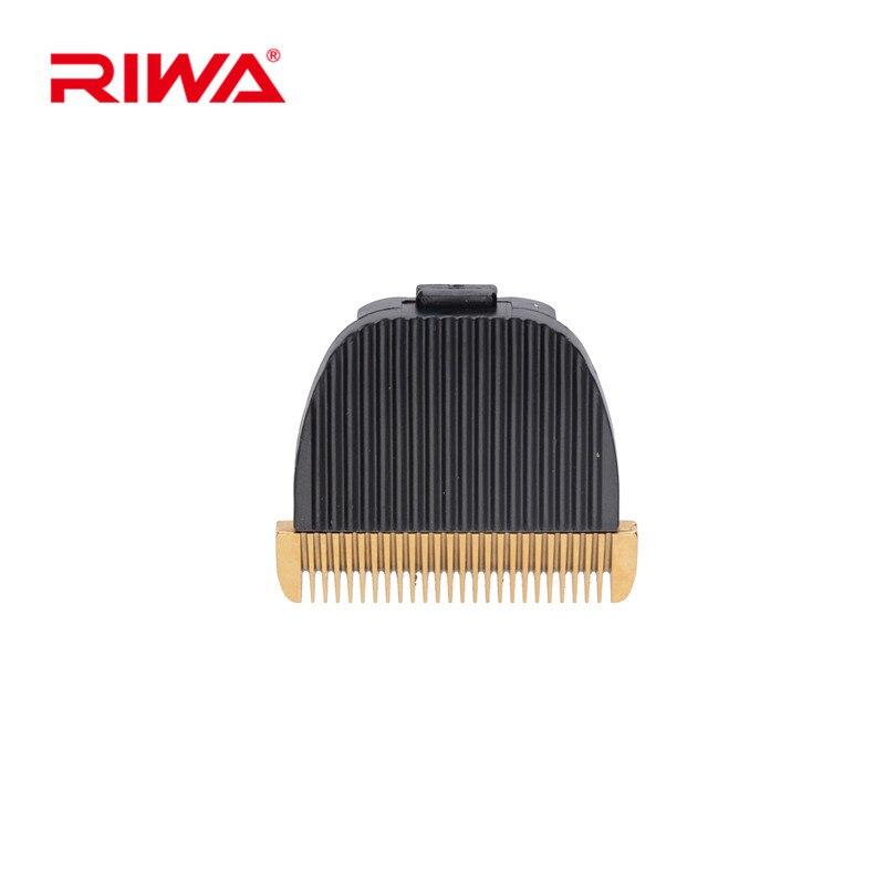 RIWA X9 Replaceable Hair Clipper Blade Titanium Ceramic Blade Head For Hair Cutting Machine Hairdressing Accessories RZ-145E 2 aa powered hair clipper with accessories set