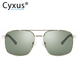 Image 1 - Cyxus  Polarized Sunglass Classic UV 400 Square Shades Men Women with UVA UVB Protection Unisex 1002