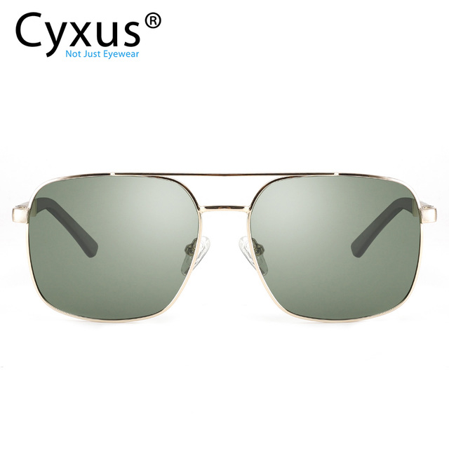 Cyxus  Polarized Sunglass Classic UV 400 Square Shades Men Women with UVA UVB Protection Unisex 1002