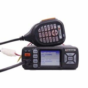 Image 2 - Baojie BJ 318 Mini Vehicle Mount Auto Radio Station 256CH 10 km 25 W Dual Band VHF/UHF Mobiele Radio transceiver Upgrade van BJ 218