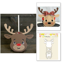 Christmas reindeer box Metal cutting dies frame craft cutting die embossing stencil for handmade Paper card making scrapbooking(China)