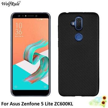 For Cover Asus Zenfone 5 Lite ZC600KL Case Soft TPU Silicone Phone Bag Case For Asus Zenfone 5 Lite ZC600KL Cover Shell 6''