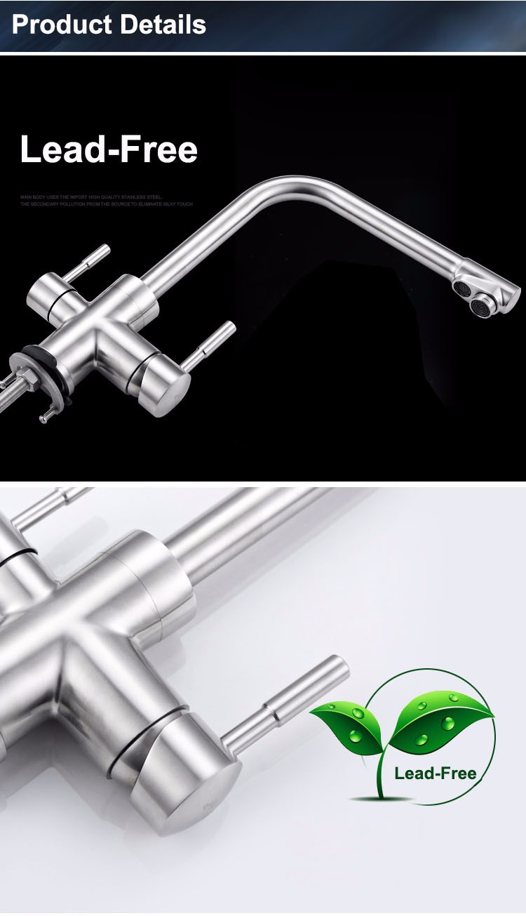 Stainless steel 3 way filter faucet (16)