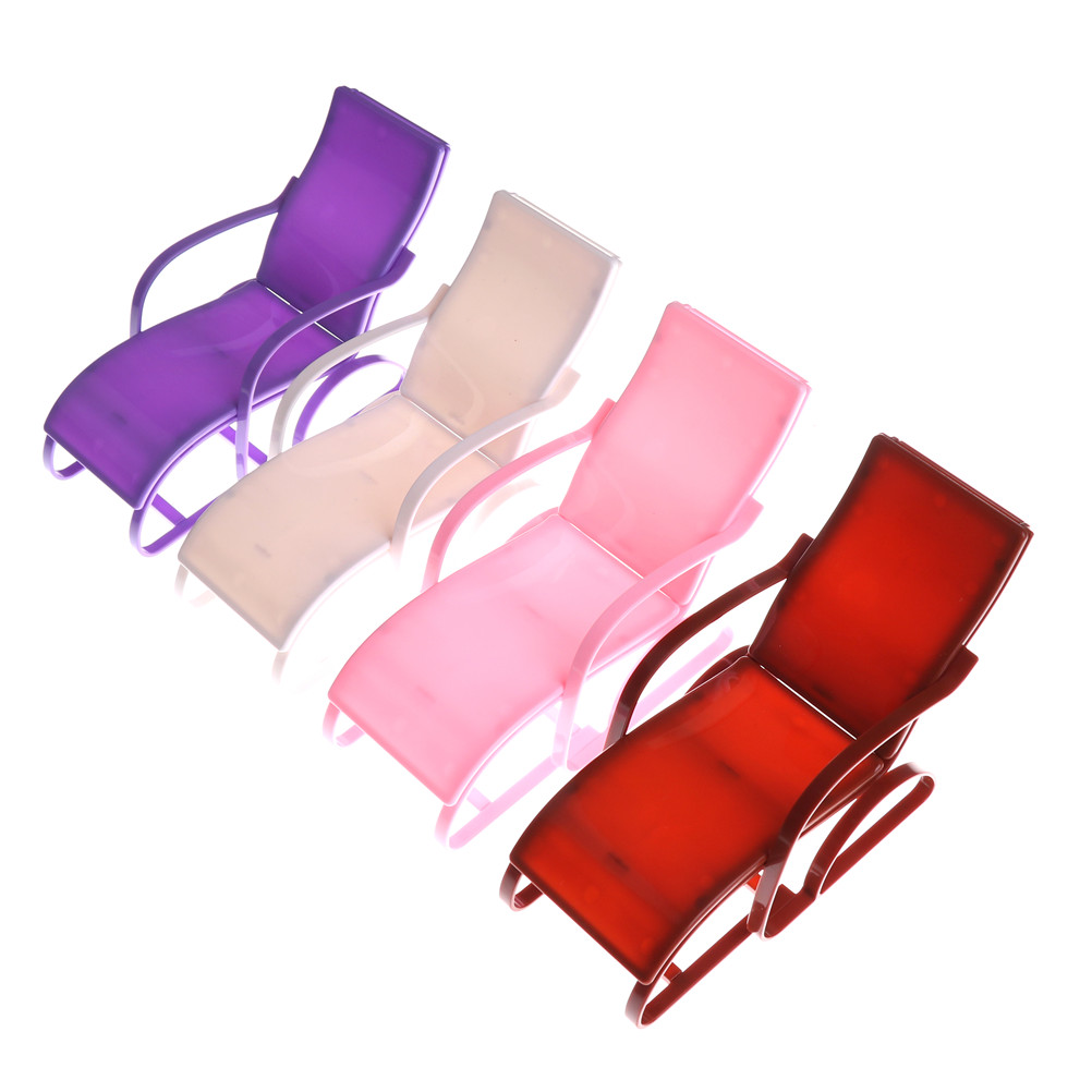 Incredible Us 2 39 30 Off 1Pc 4 Colors Plastic Beach Lounge Chair Mini Rocking Chair Kawaii Furniture Accessories For Dolls Decoration Baby Girls Toys In Dolls Camellatalisay Diy Chair Ideas Camellatalisaycom
