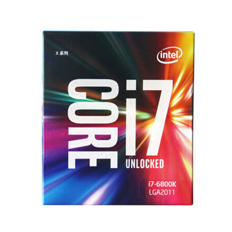 Intel/ Intel I7-6800K boxed <font><b>CPU</b></font> six core processor with ASUS X99-A X99 image