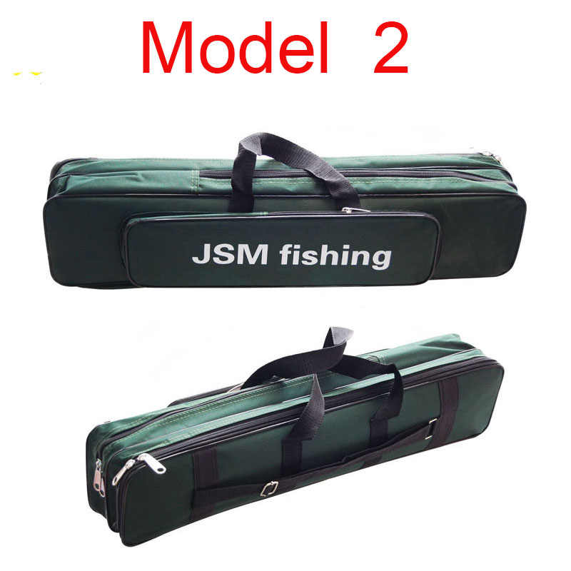 Details about  /Folding Large Capacity Fishing Rod Reel Bag Pole Carrier Outdoor Travel Organize