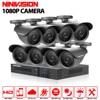 HD 8Channel Home Surveillance System 8CH AHD DVR Kits 2 0MP 1080P 3000TVL Waterproof CCTV Security