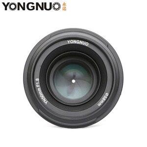 Image 2 - Объектив для камеры YONGNUO YN50mm F1.8 MF YN 50 мм f/1,8 AF, диафрагма YN50, автофокус для NIKON D5300 D5200 D750 D500 DSLR