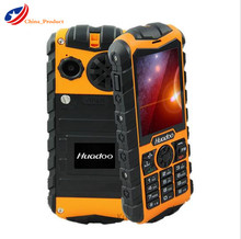 (Gift!!) Huadoo H3 Russian Keyboard IP68 Waterproof Shockproof 3G mobile phone Dual SIM Big speaker outdoor Elder Cell Phones