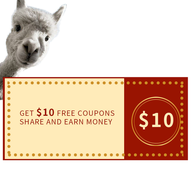 go get free coupons $10, share and earn money