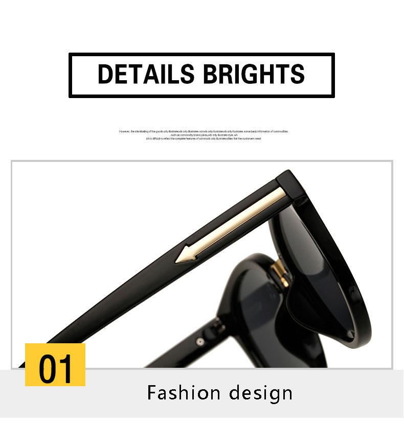 HTB1NkydSpXXXXcDaXXXq6xXFXXXn - OHMIDA Mirror Sunglasses Women's 2018 Arrow Round Brand Sunglasses Pink UV400 Vintage New Fashion