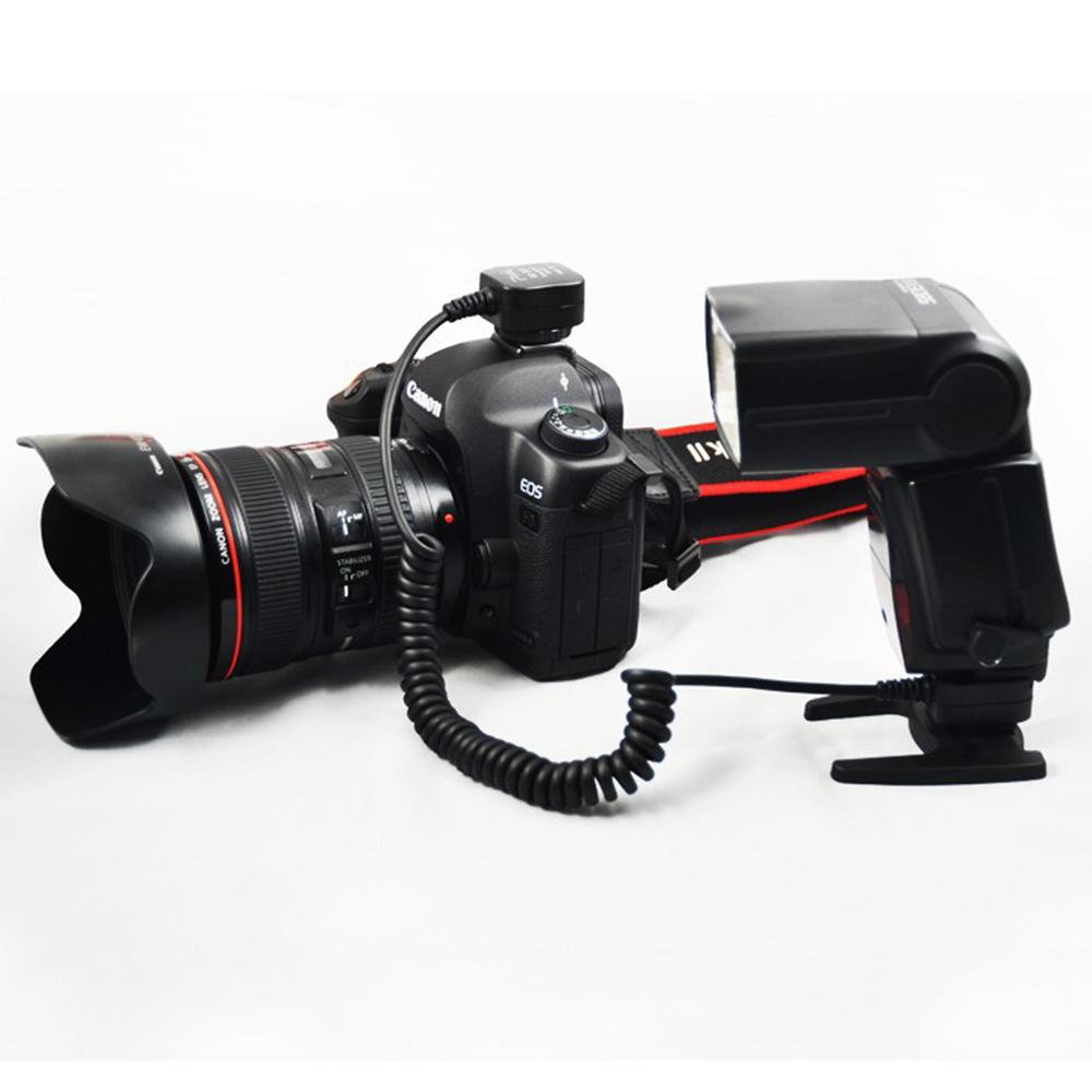 canon ttl flash shoe cord