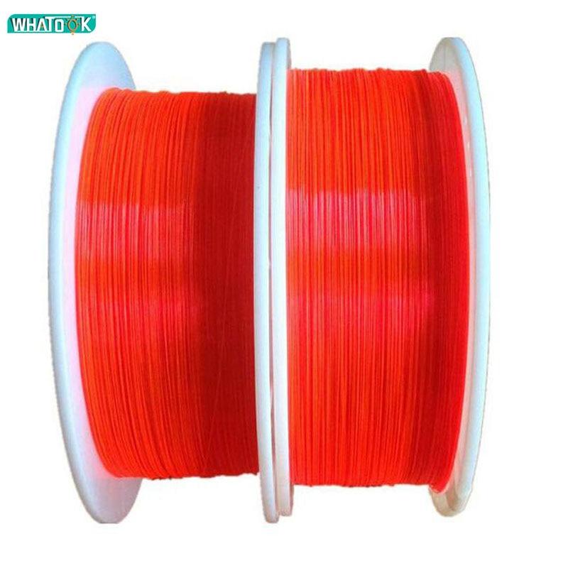 1M Fluorescence Fibre Optic Cable Red Orange Green Ultra Flex Optical Fibre For Professional Gun Sight Lighting Bow Sight