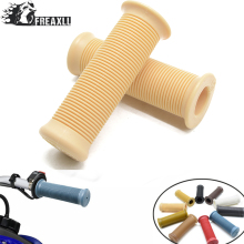 Universal left 25mm and right 28mm Retro Rubber Handlebar Hand Grip For Honda CB 750 KTM 300 EXC Suzuki DRZ 400 GS 500 VTX