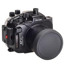 Для Sony A7 II A7s A7r Mark II 28-70 ILCE-7 II 28-70 мм A7M2 Meikon 40 м 130ft Водонепроницаемый подводный Камера Корпус случае F