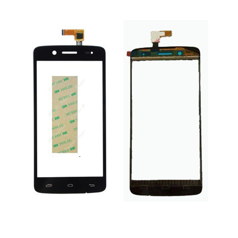 5.0 Phone Touch Screen For Prestigio MultiPhone Pap 5507 pap5507 Touchscreen Sensor Front Panel Digitizer Glass+3M Sticker
