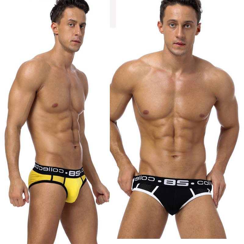 3pcs Sport Jockstrap Sexy Gay Underwear Men Transparent String Homme Slip Sexy Erotic Homens Mens Thongs & G Strings Cueca Gay