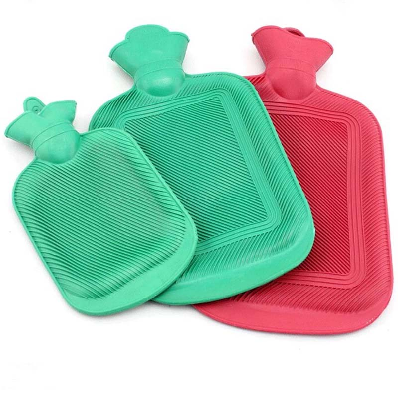 Hot Water Bottle Thick High Density Rubber Hot Water Bag Hand Warming Water Bottles Winter Hot Water Bags Bottle hot winter