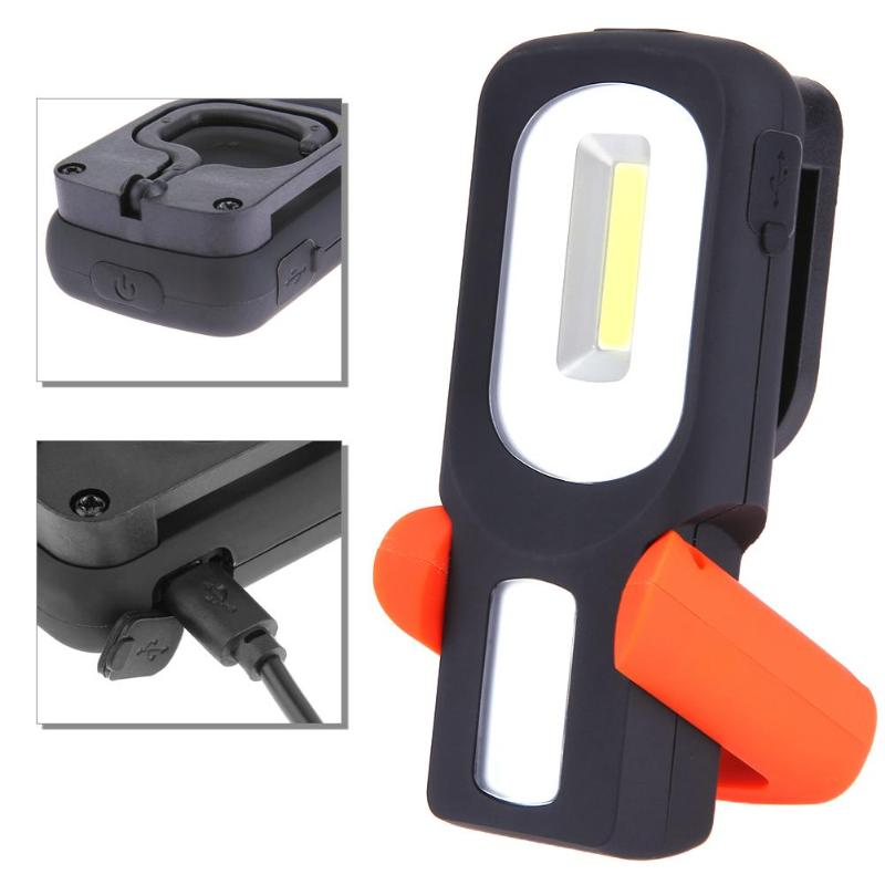 Cob Led Work Light Inspection Lamp Hand Tool Garage: Portable COB LED Work Light Inspection Lamp Magnetic