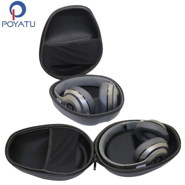 Headphone Case Large For Plantronics BackBeat PRO And BackBeat PRO 2  Wireless Noise Cancelling Headphones Storage Case Bag Box 2a5ed5561bfe