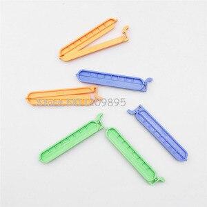 Image 1 - 10 יח\אריזה 40mm 60mm 80mm 100mm פלסטיק דיאליזה תיק מהדק איטום קליפ משלוח חינם