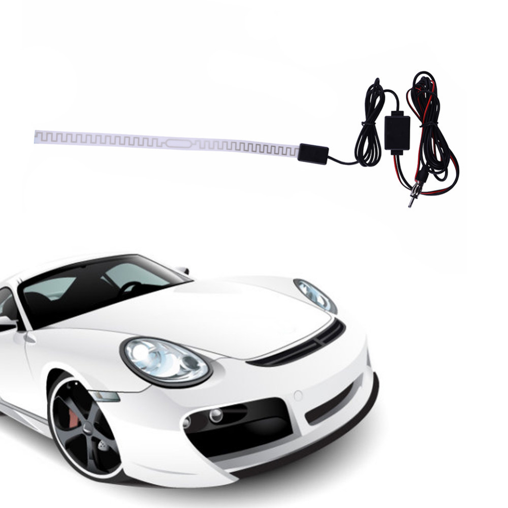 High Gain AM//FM Universal Replacement Amplified Hide-Away Antenna For Car MY