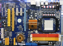 Free shipping for Jetway HA03-GT3L DDR2 / DDR3 AM2 + AM3 motherboard