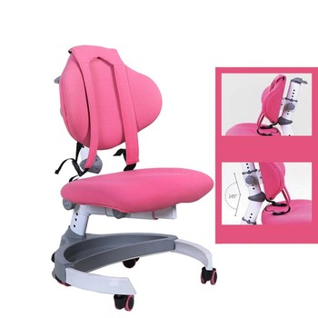 Kids chair table adjustable sitting position Luxury Version Comfortable student study chair Corrective posture children s study table and chair set primary school posture home simple student writing desk