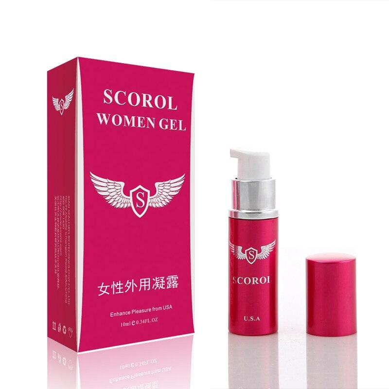 Buy Genuine SCOROL Orgasmic Gel Women Female Pleasure Enhancement Pheromone Spray Adult Sex Products