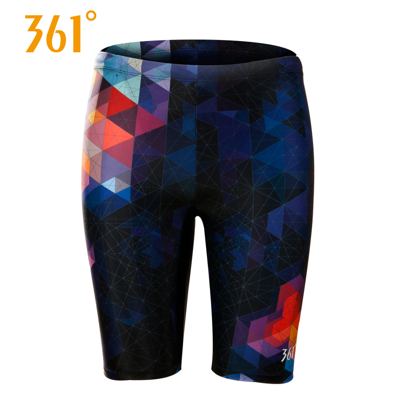 361 Mens Trunks Athletics Swim Sports Beachwear Quick Drying Pool Swimming Shorts Elastic Tight Board Large Size
