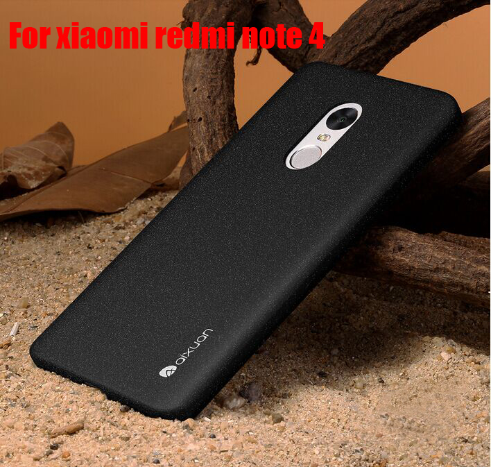 Upgraded  Original AIXUAN Redmi Note Quicksand Case High Quality Frosted Shield