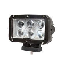 2 шт. 60 Вт Светодиодный светильник для работы, супер Точечный светильник для вождения, для 4x4 внедорожников, грузовики трактора, фары