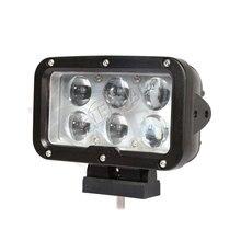 2 adet 60W LED çalışma ışığı topu sürüş süper spot günü maker 4x4 offroad için pick up kamyonlar farlar
