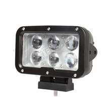 2 uds 60W LED Cañón de luz de trabajo conducción super spotlight día maker para 4x4 todoterreno pick up camiones tractores faros