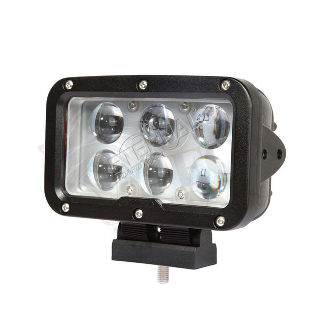 2pcs 60W LED work light cannon driving super spotlight day maker for 4x4 offroad pick up trucks tractors headlamps