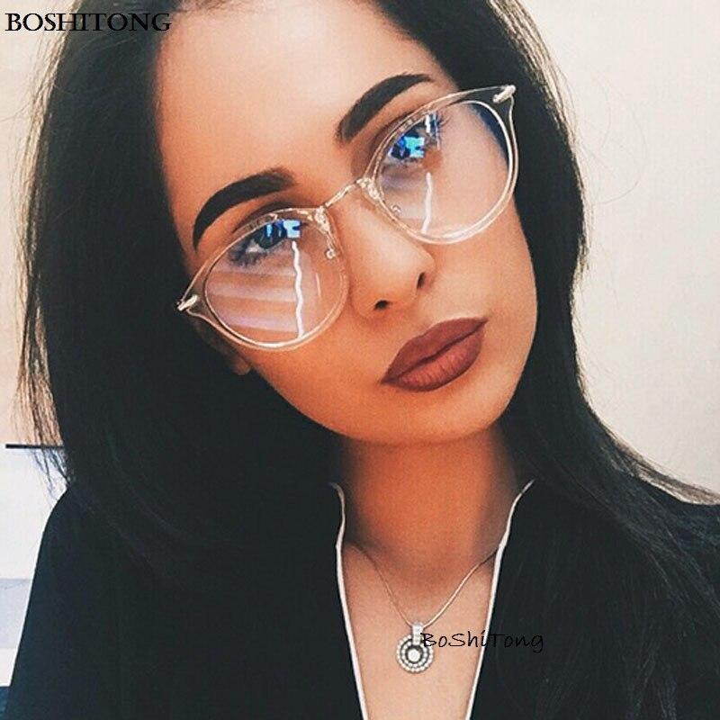 d928223ca89 2018 fashion women glasses frame men eyeglasses frame vintage round clear  lens glasses optical spectacle frame
