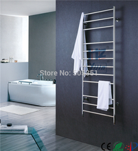 big size stainless towel warmer heated rack  Concealed/Exposed Wiring Heated Towel Rail HZ-917A