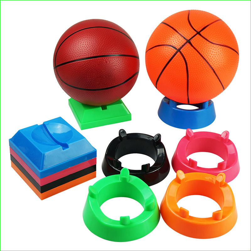 New Plastic Ball Stand Display Holder Basketball Football Soccer Stands Rugby Ball Support Base