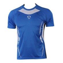 New Arrival 2018 men Designer T Shirt Casual Quick Dry Slim Fit Shirts Tops & Tees Size S M L XL LSL3225