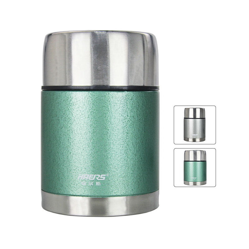 Haers Bento Lunch Box For Kids Stainless Steel Thermos For Hot Food Storage With Containers
