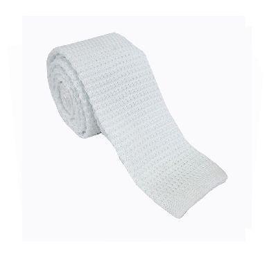 2019 padat rajutan ikatan kurus untuk pria wol Crochet hitam dasi - Aksesori pakaian - Foto 6