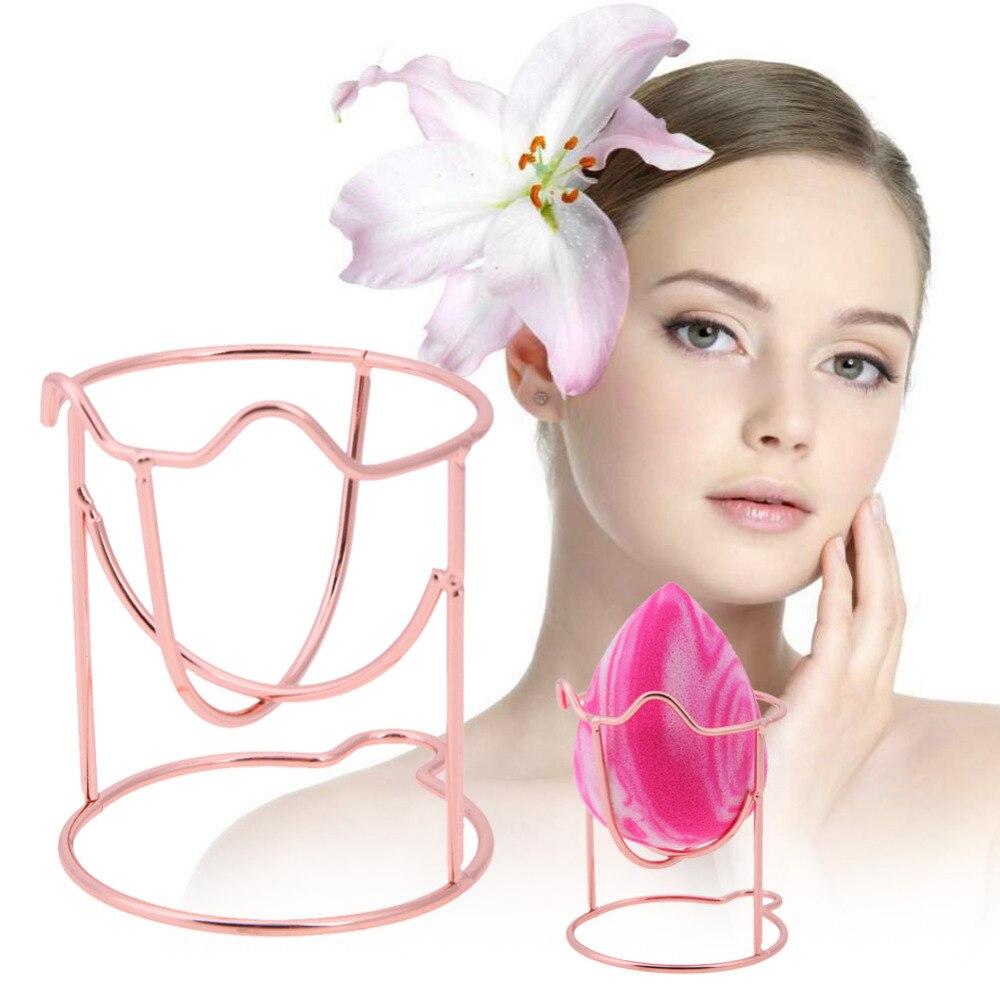 1PC 3 színben smink szivacs tartók Kozmetikai kijelző állvány tök alakú szárító tartó tartó konzol Támogatás tartozék