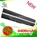 Golooloo 4400 mah 6 celdas de batería portátil para asus a42-ul30 a42-ul50 a42-ul80 ul30 ul30a ul50 ul80 ul80a ul80vt ul50vt ul50vg