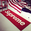 2016 New Fashion Designer Red Black Rug Carpet White Letter Handmade Bedroom Rugs Doorway mat Floor Area Rug Thick Quality